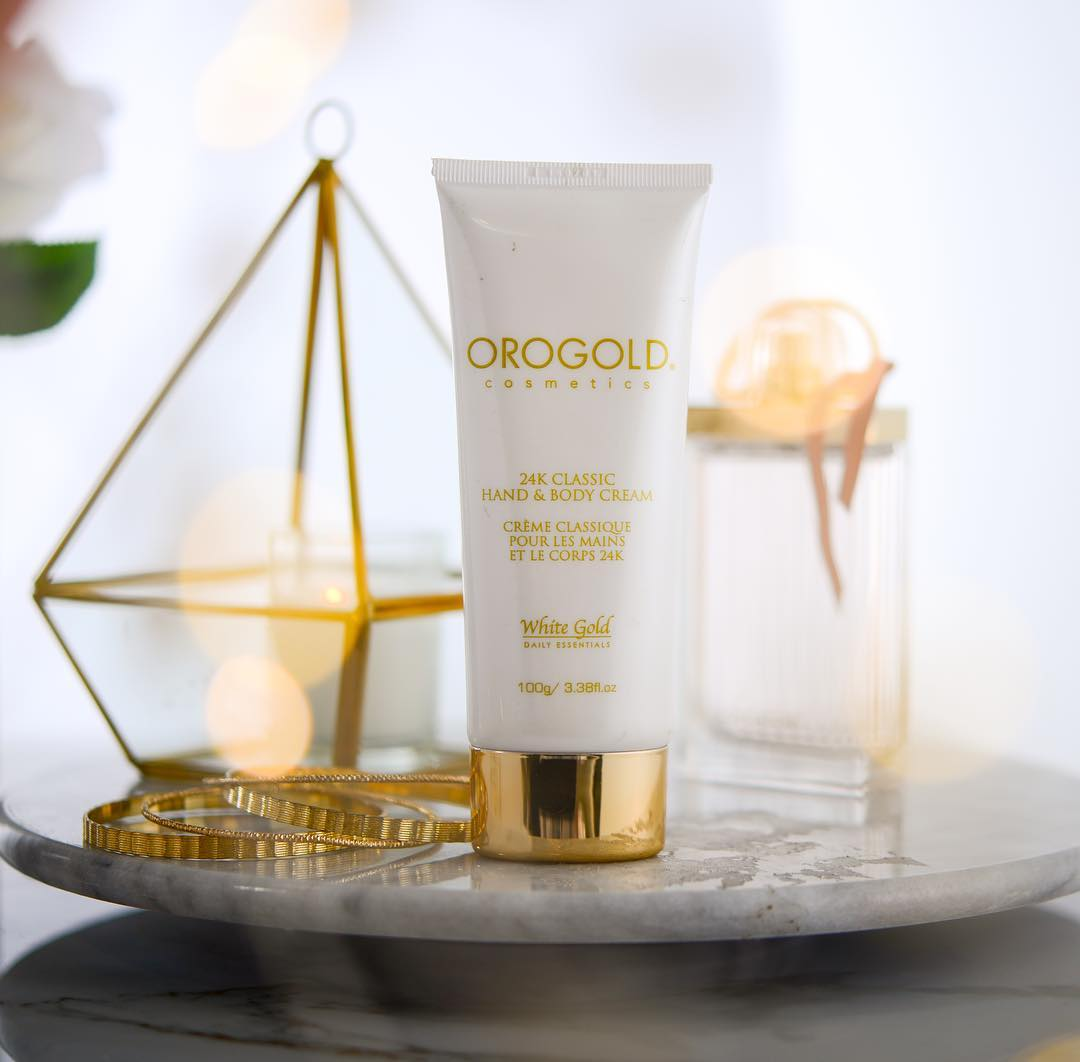 24k classic hand and body cream