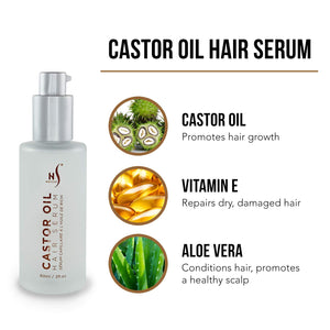 Castor Oil Hair Serum – Strengthen and Renew