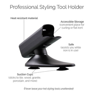 Professional Styling Tool Holder (Black)