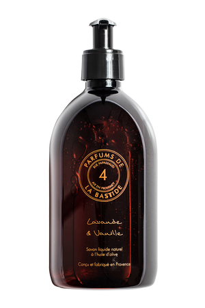 Lavande & Vanille Natural liquid soap with olive oil