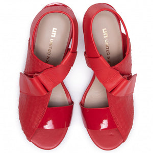 Square Sandal Mid Rio Red SS20