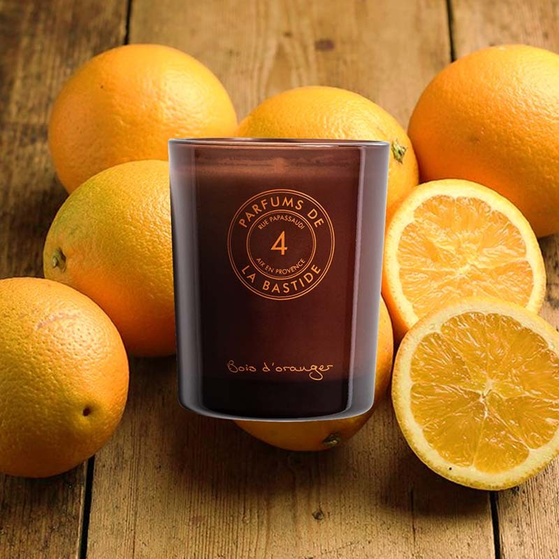 Bois d'oranger [Nice] – Perfumed candle