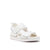 Geo Sandal Mens White Red Mix SS20