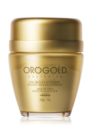 24K Multi-Vitamin Night Nourishment + Retinol