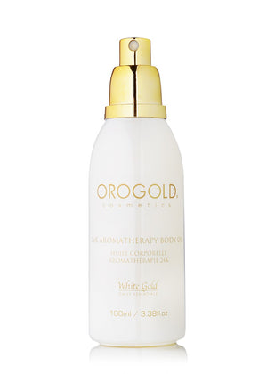 24k White Gold Aromatherapy Body Oil