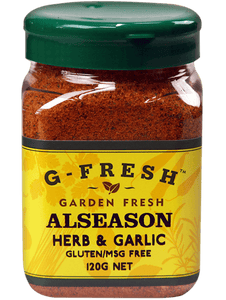 G-Fresh Alseason Herb & Garlic 120g