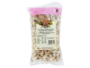 Australian Roasted and Salted Pistachios 375g