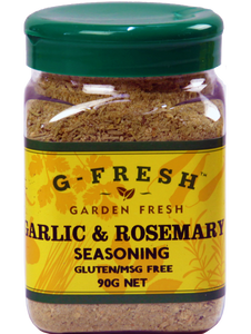 G-Fresh Garlic & Rosemary Seasoning 90g