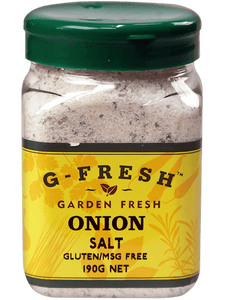 G-Fresh Onion Salt 190g
