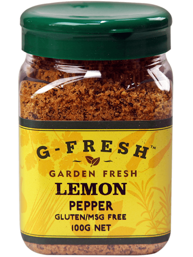 G-Fresh Lemon Pepper 100g