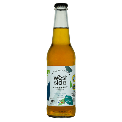 Cidre brut WEST SIDE Bio - 33 cL