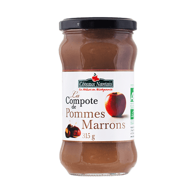 Compote pommes marrons Bio - 315 g