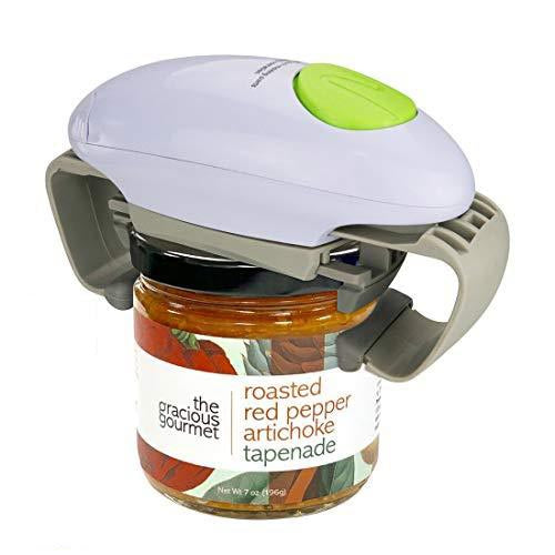 Automatic Electric Jar Opener For Seniors With Arthritis, Weak Hands, Ideal Gifts For Seniors