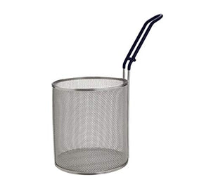 MPN-67, Stainless Steel Small Pasta Boil Baskets, 6.5-Inch Diameter Cylindrical Pasta Strainer