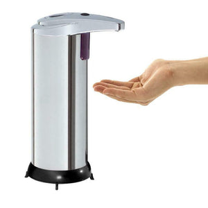 FanBell Stainless Steel Touchless Handsfree Automatic IR Sensor Soap Liquid Dispenser