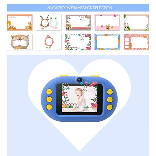 Gift Camera for Kids 1080P Waterproof Camera for Kids, 8MP/16MP Kids Digital Camera with 2.4'' Screen Underwater Video Camera Camcorder Best Present