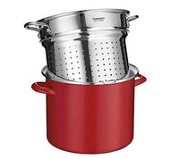 SS112-28GBCP Quart, Stainless St 12 Qt Steamer Insert w/Self-Draining Clip