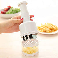 Garlic,Onion, Chopper Stainless Steel Food Chopper great for chopping vegetables onion,garlic and more WHITE
