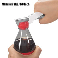 "Adjustable Jar Opener for Arthritis All Metal Construction Easily Opens 3/8"" to 4"" Jar"