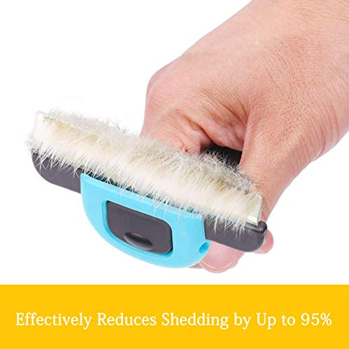 Pet Grooming Brush Effectively Reduces Shedding by Up to 95% Professional Deshedding Tool for Dogs and Cats