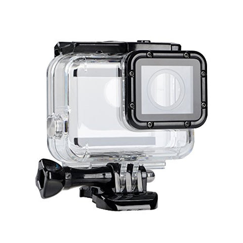 Replacement Waterproof Case Protective Housing Compatible for GoPro Hero 7 Black Hero 6 Hero 5 Underwater Use - Water Resistant up to 147ft (45m)