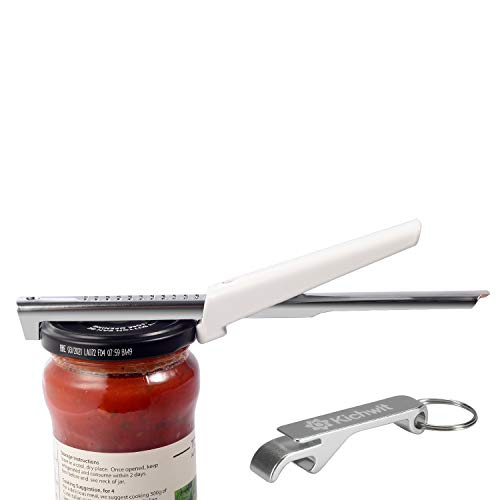 "$9.99 Deal of Adjustable Jar Opener for Arthritis All Metal Construction Easily Opens 3/8"" to 4"" Jar"