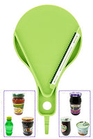 Jar Opener, Jar Opener for Weak Hands, Effortless, Never Skidding, Jar Opener for Seniors with Arthritis, Jar Gripper
