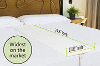 Bed Bridge Twin to King Converter Kit Two Twin Beds into a King with Extra Wide Bed Connector Unique V-Shaped Bed Gap Filler Perfect for Twin XL Beds