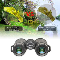 Binoculars 12x42 Adults Smartphone Adapter HD Professional Bird Watching Travel Stargazing Hunting Concerts Large View Eyepiece BAK4 Prism FMC Lens