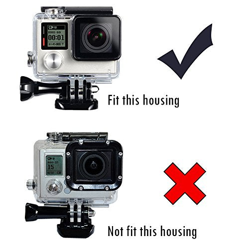 BacPac Backdoor Compatible for GoPro Hero4 Silver, Hero4 Black, Hero3+ Cameras Housing for GoPro BacPac LCD Screen Extended Battery BacPac