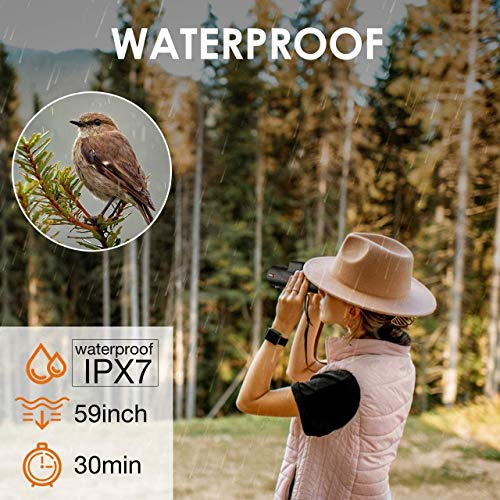 Monocular Telescope 40X60 High Power HD Monocular Smartphone Holder Tripod Waterproof Durable Clear FMC BAK4 Prism Dual Focus for Bird Watching