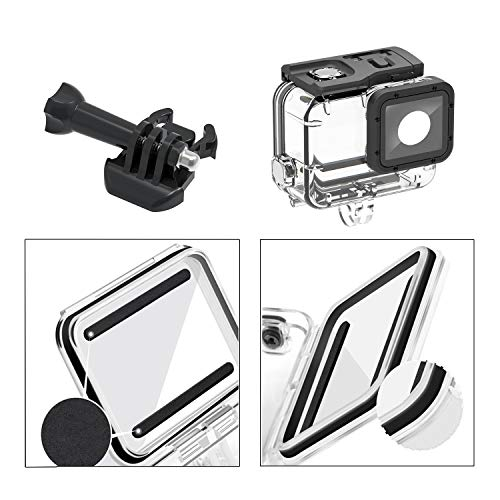 Waterproof Housing Case for GoPro Hero 7/6/5 169FT/60M Diving Protective Housing Shell Action Camera Underwater Dive Case Shell with Mount Thumbscrew