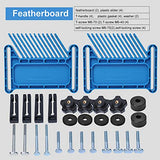 "Featherboards for Table Saw Fence, Compatible with Kreg PRS3020 True Flex Featherboard,Fits Standard 3/8"" x 3/4"" Miter Slot"