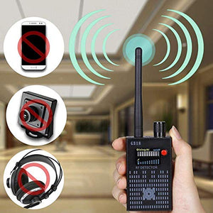 G318 RF Detector Camera Finder Anti Wireless Rf Mobile Signal Detector Tracer GPS Tracker Wireless Camera Amplification Sensitivity GSM Device Finder