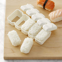FanBell HSSM-ONGR5, Japanese Onigiri Mold Rectangular Sushi Press Nigiri Maker Rice Ball Mold Made in Japan