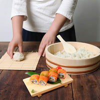FanBell Wooden Sushi Oke Rice Mixing Tub, 1 Piece