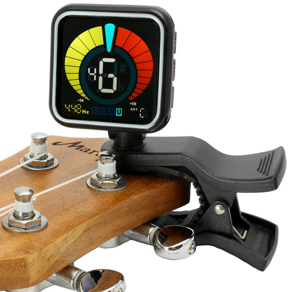 FanBell WeTune - A Clip-On Tuner for all instruments - Guitar, Bass, Ukulele, Violin & Chromatic Tuning Modes