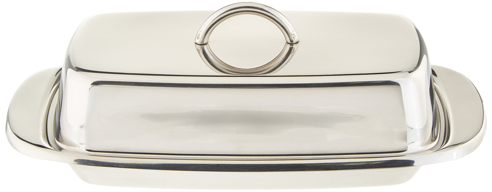 FanBell Stainless Steel Double Covered Butter Dish