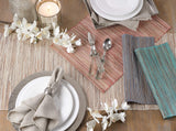 FanBell Nubby Texture Woven Table Runner