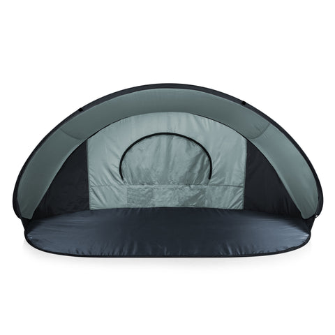 Manta Portable Beach Tent (Gray with Black Accents)