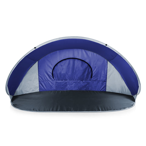 Manta Portable Beach Tent (Blue with Gray Accents)