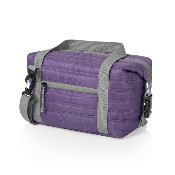 Midday Quilted Washable Insulated Lunch Bag (Purple)