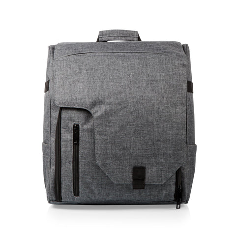 Commuter Travel Backpack Cooler, (Heathered Gray)