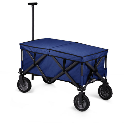 Adventure Wagon Elite Portable Utility Wagon with Table & Liner (Blue)