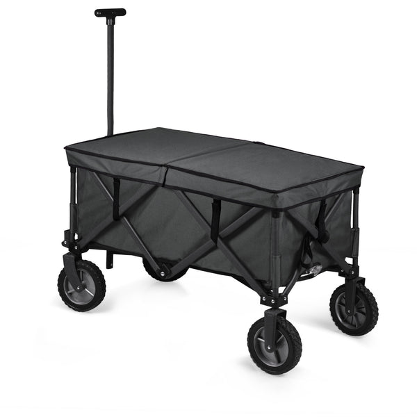 Adventure Wagon Elite Portable Utility Wagon with Table & Liner (Dark Gray)