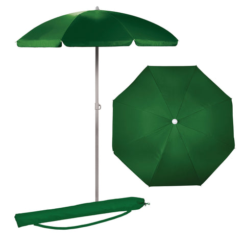 5.5 FT. Portable Beach Umbrella (Hunter Green)