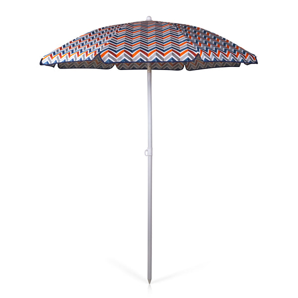 5.5 Ft. Portable Beach Umbrella, (Cabana Stripe)