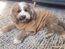 Load image into Gallery viewer, Dog Jumper - Teddy Fleece Latte