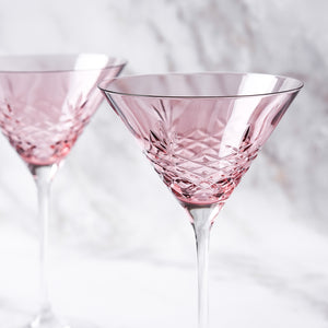 Crispy Cocktail Topaz // Pink - 4 stk.