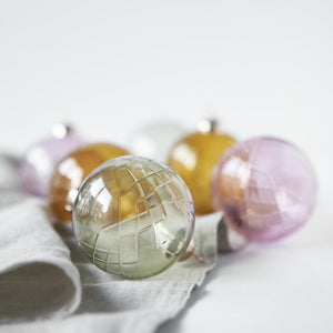 Crispy Glass Ball Topaz // Pink - 1 stk.